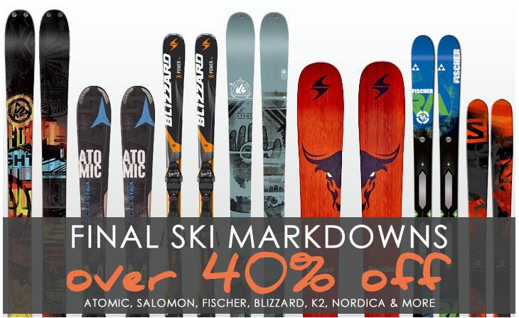 Final Ski Sale