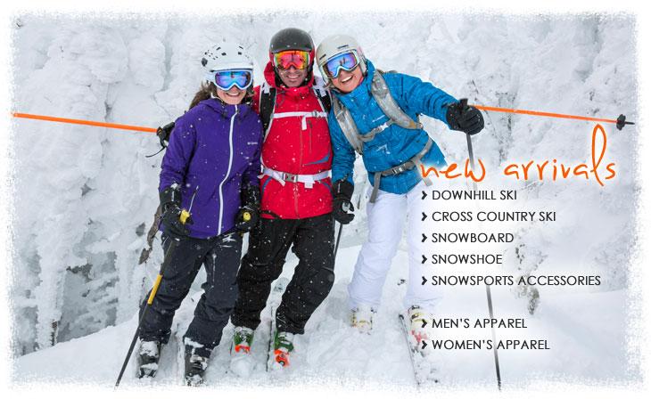 New Snowsports Arrivals