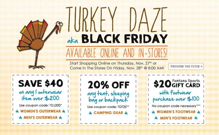 Turkey Daze - Black Friday Sale