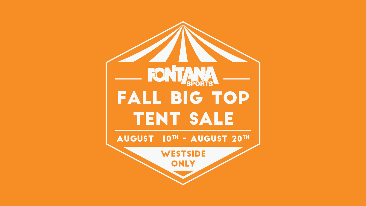 Fall Tent Sale