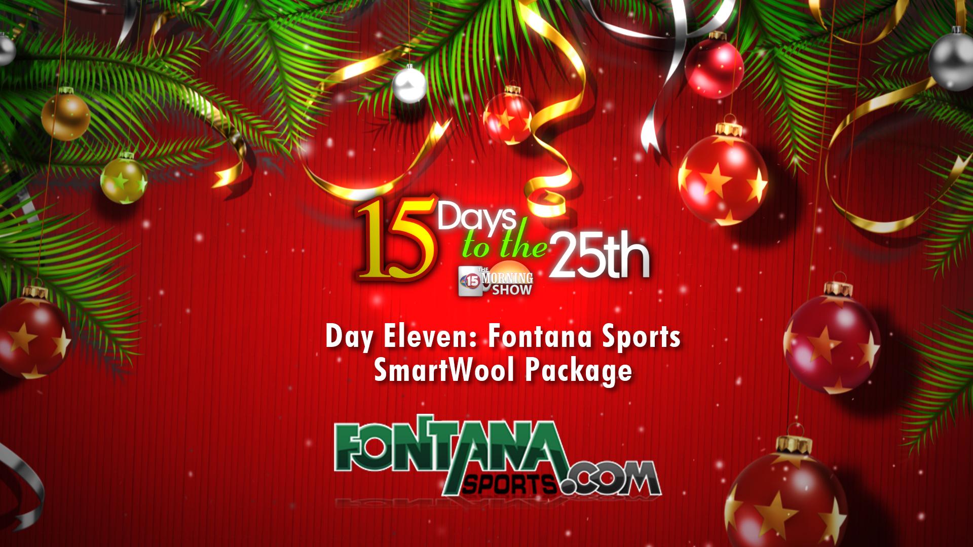 NBC 15 Days to Christmas | Fontana Sports