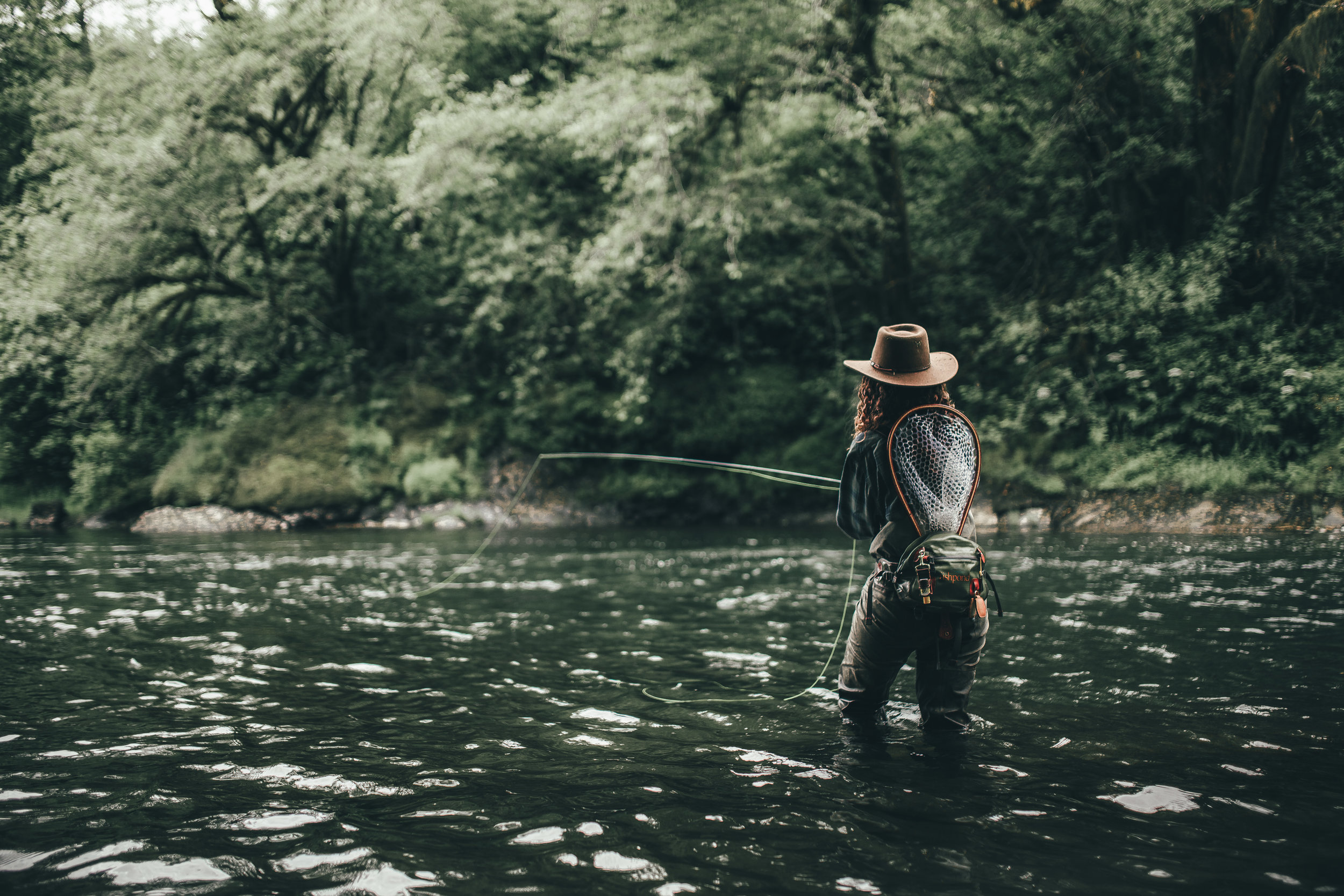 Fishing on a fly march report fontana sports for Fly fishing spots near me