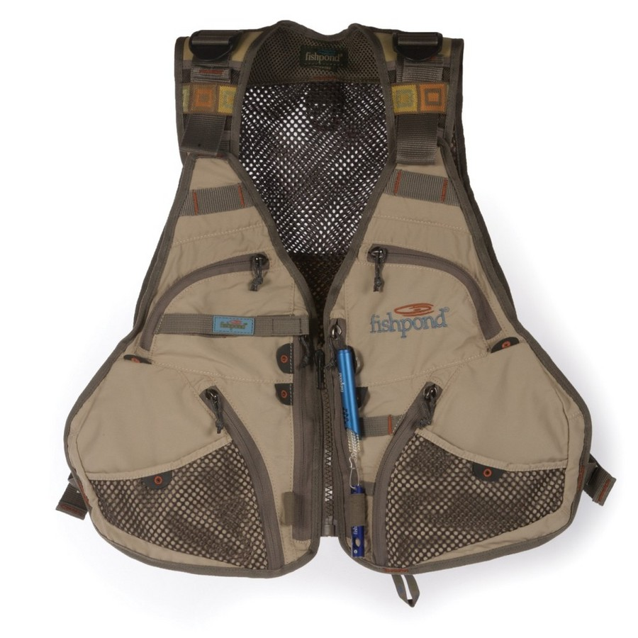Fishpond flint hills fishing vest in clay fontana sports for Toddler fishing vest