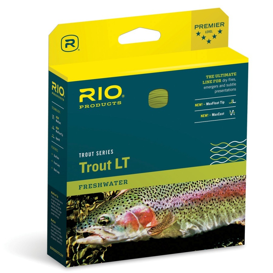 Rio Products Trout LT Fly Line WF4F Beige/Sage