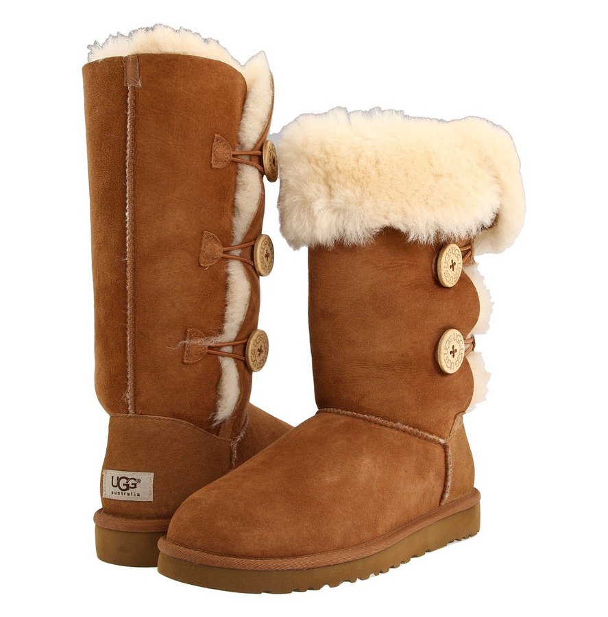 Ugg Womens Bailey Button Triplet Boots Fontana Sports