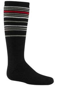 Youth Snow Swirl Sock
