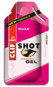 Razz Shot Energy Gel