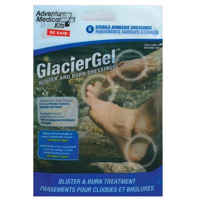 Adventure Medical GlacierGel Advanced Blister and Burn Dressings