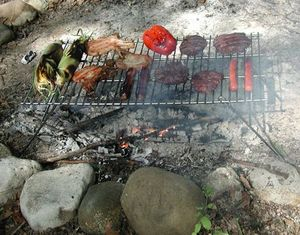 Pioneer Camp Grill