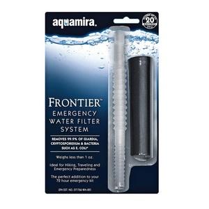 Frontier Emergency Straw Filter