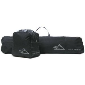 2 Piece Zippered Snowboard bag Combo Set