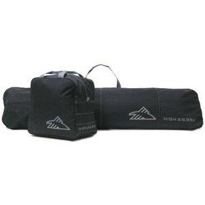2 Piece Zippered Snowboard bag Combo Set