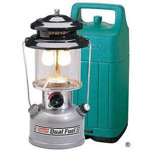 Premium Dual Fuel Lantern w/ Hard Carrying Case
