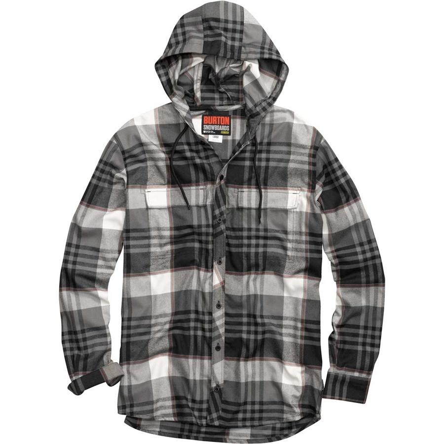 Zzzz Men's Ruckus Hooded Flannel Shirt