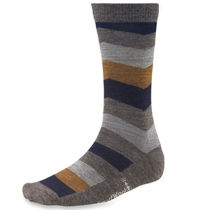 Men`s Chevron Stripe Sock