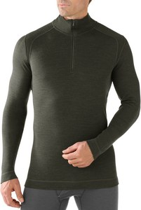 Men`s Midweight Zip T Baselayer