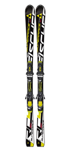 RC4 SuperRace SC Skis w/ Z12 PowerRail Binding