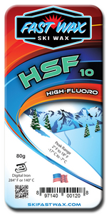 Highly Fluorinated Racing Wax - HSF 10