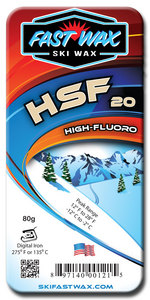 Highly Fluorinated Racing Wax - HSF 20