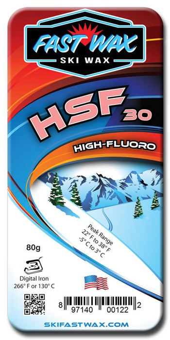 Fast Wax Highly Fluorinated Racing Wax - HSF 30