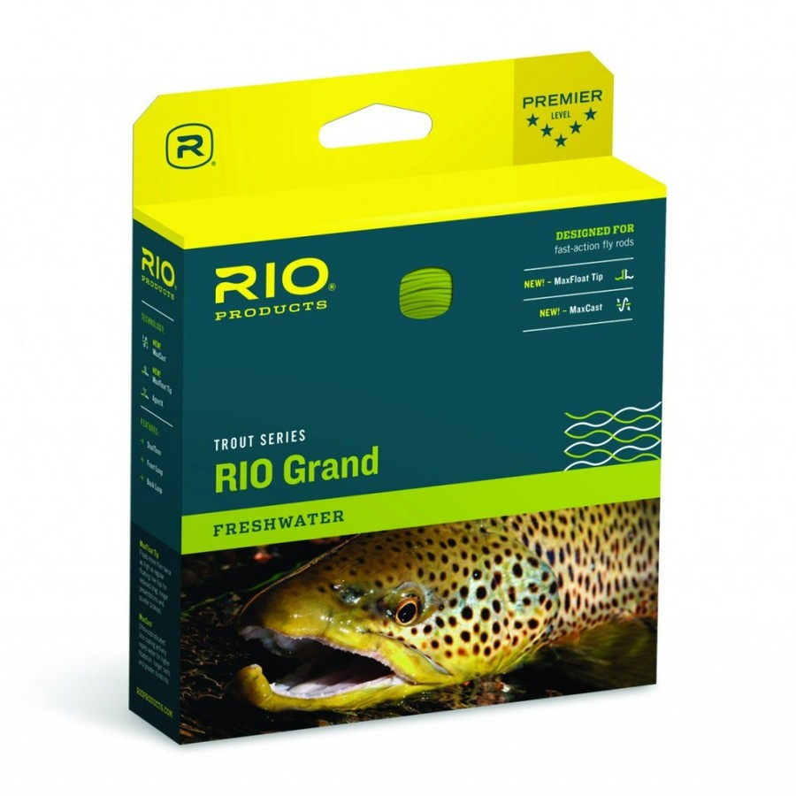 Rio Products Grand Fly Line WF6F Camo/Tan