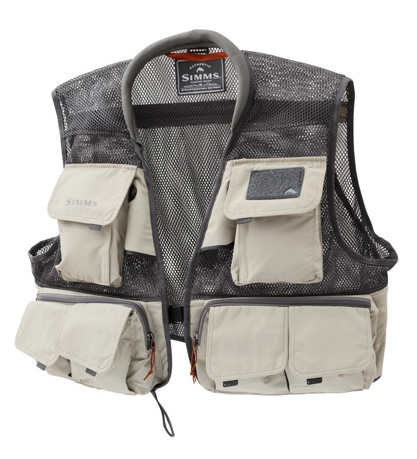 simms headwaters mesh fly fishing vest fontana sports