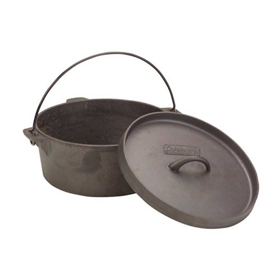 coleman cast iron dutch oven fontana sports