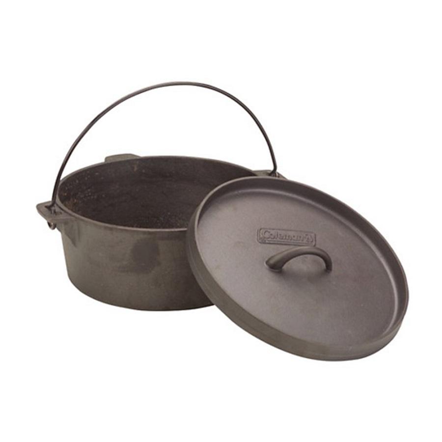 Coleman cast iron dutch oven fontana sports for Cast iron dutch oven camping recipes