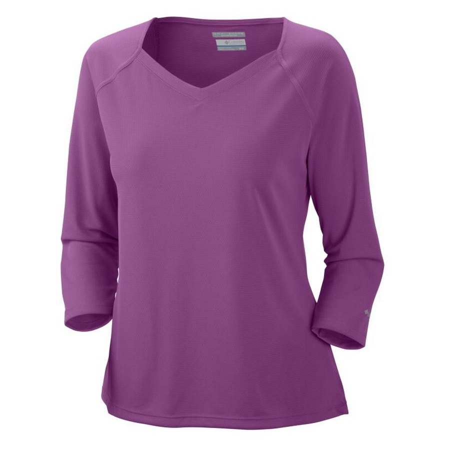 Columbia Women S Skiff Guide 3 4 Sleeve Shirt Fontana Sports