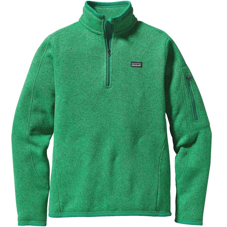 02b164360 Patagonia Women s Better Sweater 1 4 Zip