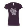 Wisconsin Bike Fed Women's Forward T-Shirt