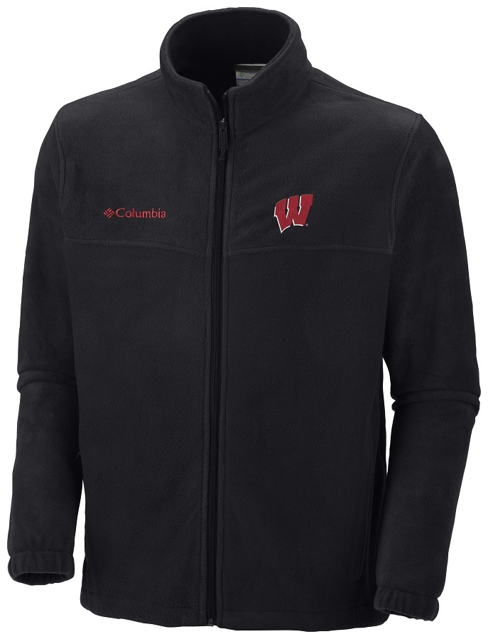 Columbia Mens Wisconsin Flanker II Full Zip Fleece
