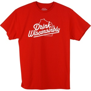 Men's Drink Wisconsinbly T-Shirt