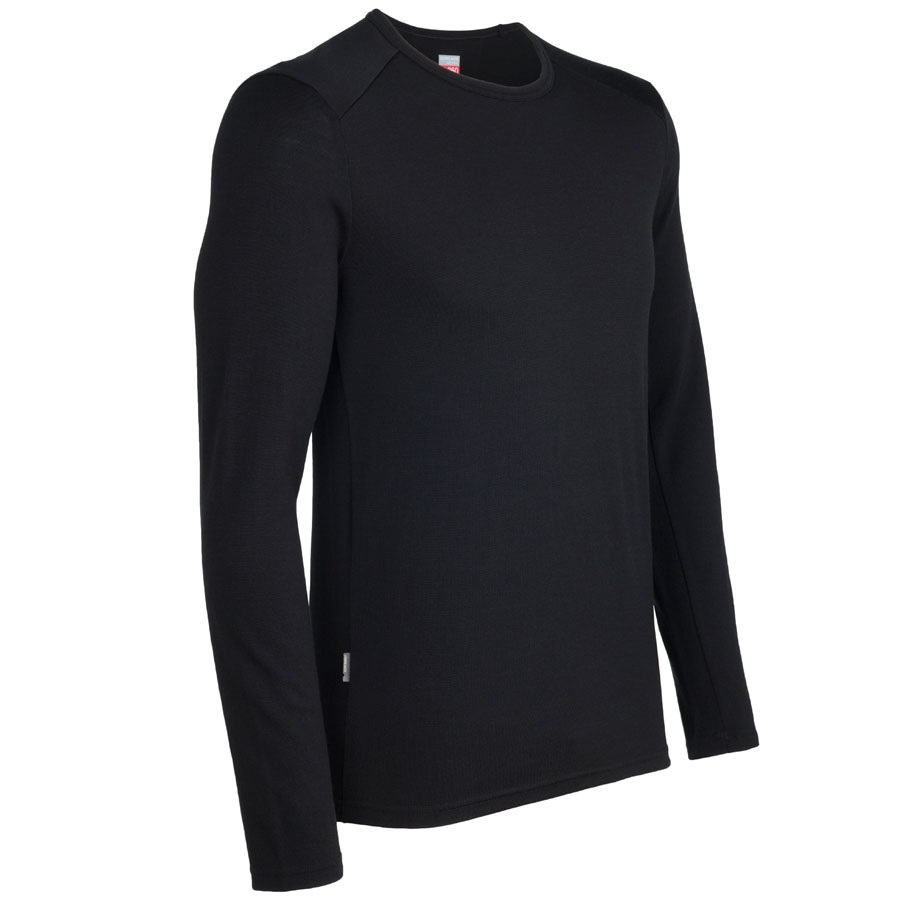 Icebreaker Mens Tech Top Long Sleeve Crewe