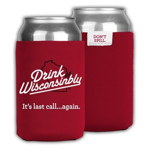 Drink Wisconsinbly Can Cooler