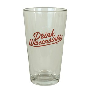 Drink Wisconsinbly Pint Glass