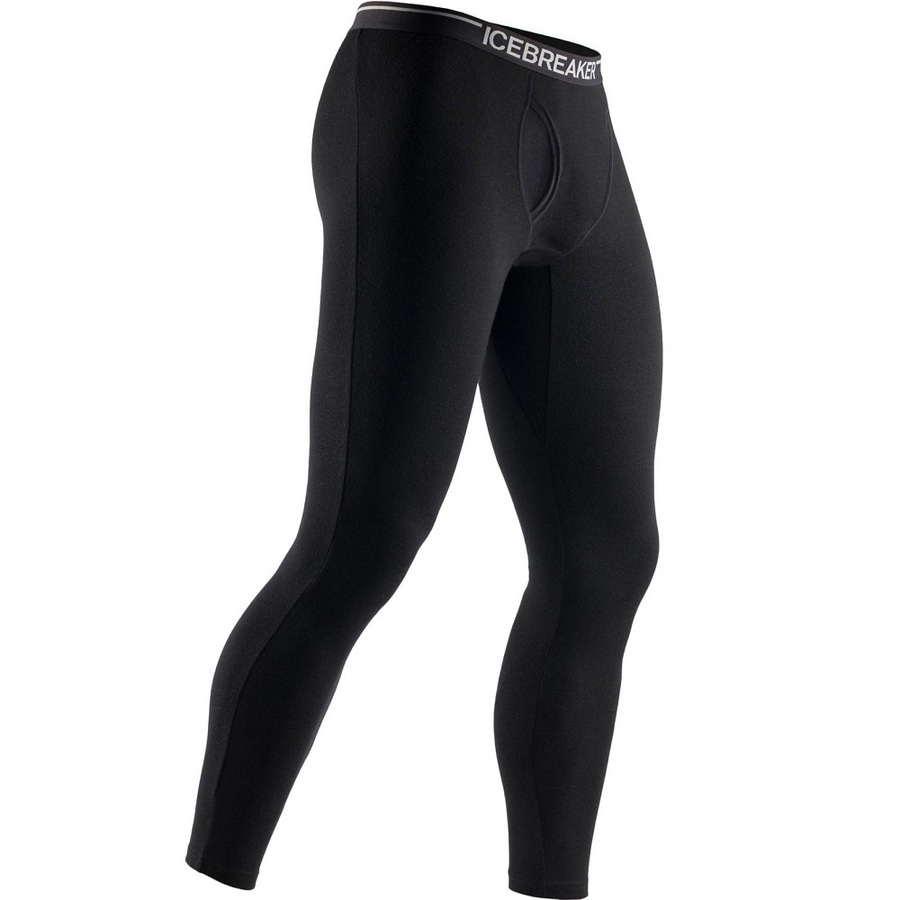 Icebreaker Men's Apex Leggings w/Fly