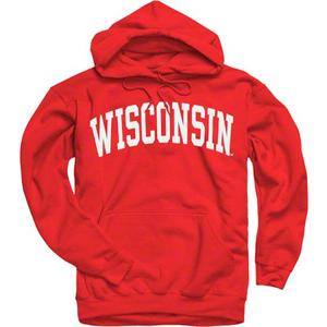 Printed Wisconsin Hooded Sweatshirt
