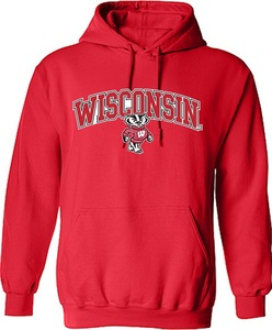 Men`s Wisconsin Bucky Sweatshirt