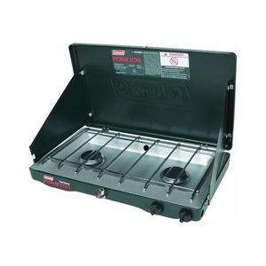 Coleman triton series instastart 2 burner propane stove Propane stove left on overnight