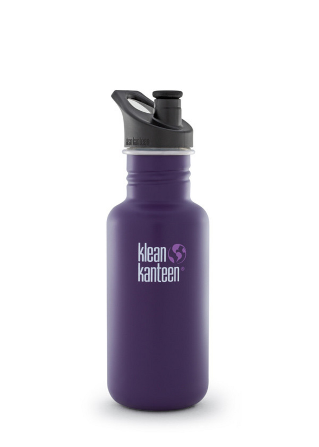 Klean Kanteen 18oz Classic Sport Cap Water Bottle