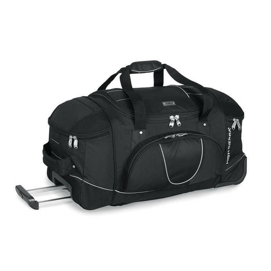 High Sierra 30 Inch Wheeled Duffel With Backpack Straps