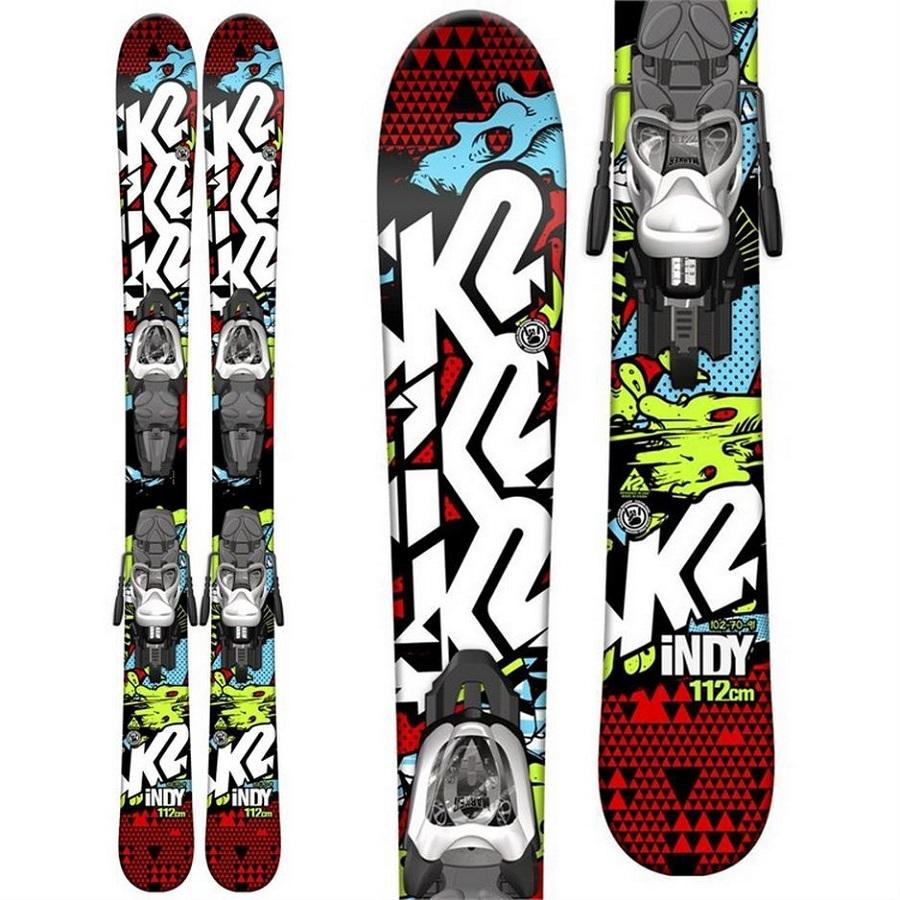 Boy's Indy Skis + Fastrak2 4.5 Bindings