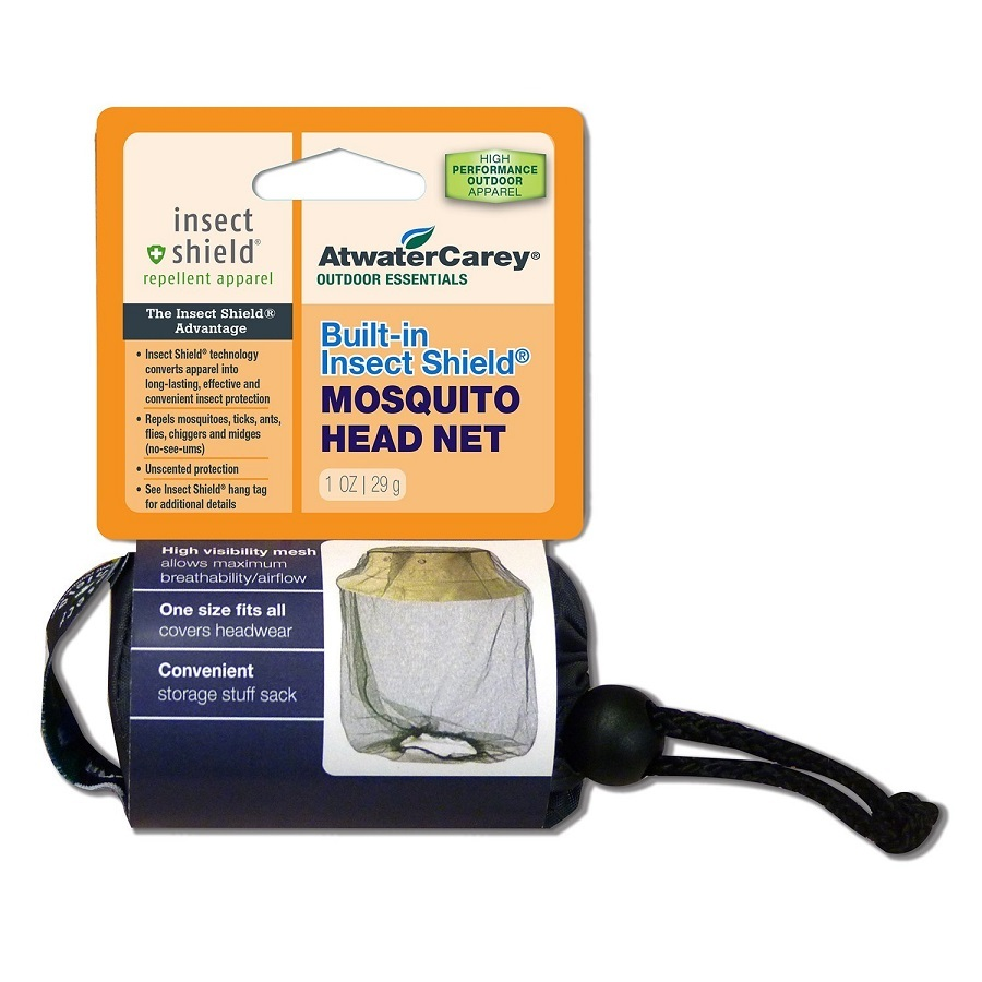 Atwater Carey Mosquito Head Net Built in Insect Shield