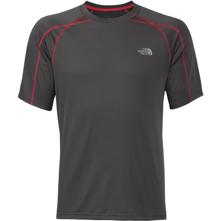 Men 39 s voltage crew short sleeve shirt fontana sports for The north face short sleeve shirt