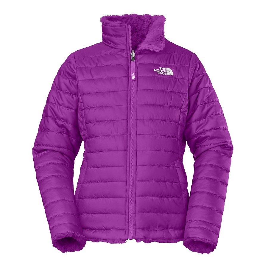 14802c125 The North Face Girl's Reversible Mossbud Swirl Jacket