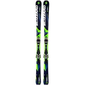 X-Power 810 TI Downhill Skis with IQ TP Bindings 12cm2