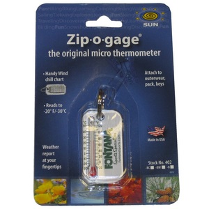 Fontana Sports Zip-O-Gage Thermometer