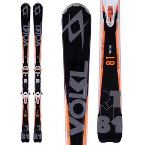 Men`s RTM 81 Ski with iPT Wideride 12.0 D Binding