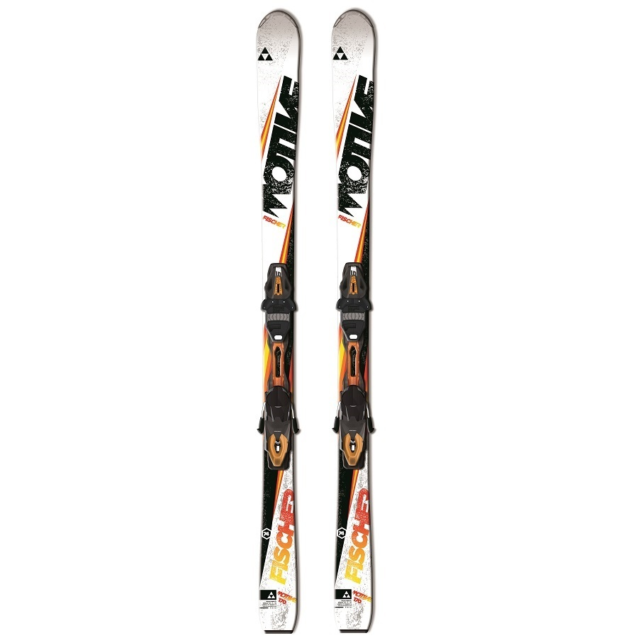 Fischer Motive 74 Downhill Skis with RS10 PowerRail Bindings